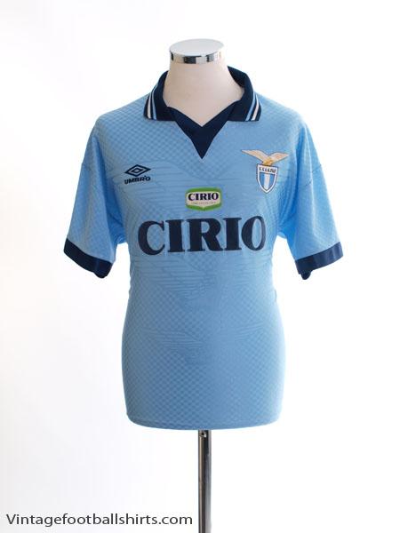 1996-97 Lazio Home Shirt M