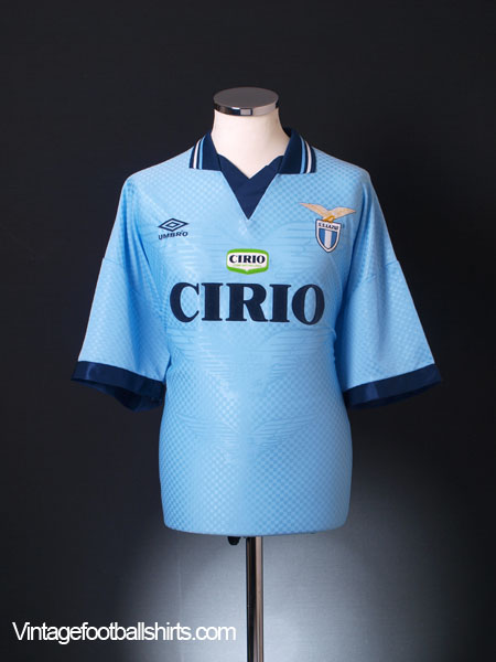 1996-97 Lazio Home Shirt *Mint* XXL