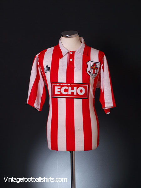 1996-97 Lincoln City Home Shirt S