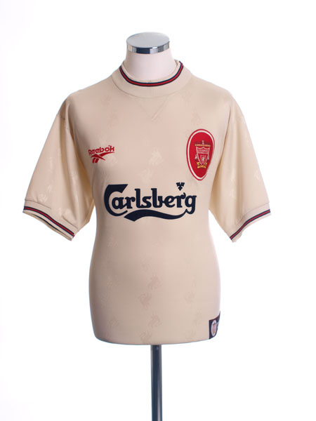 best website f3fba 8f327 1996-97 Liverpool Away Shirt Fowler #9 S for sale