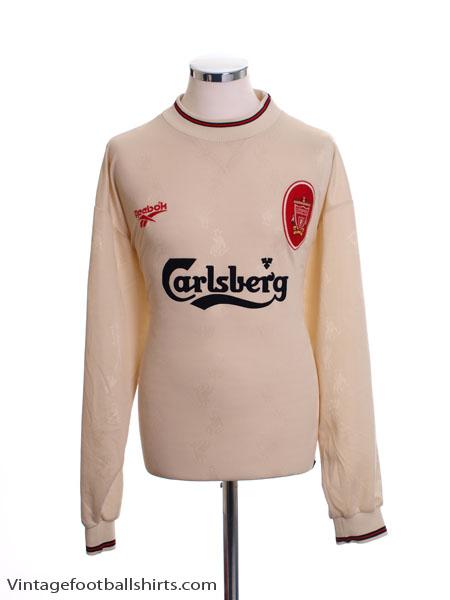 1996-97 Liverpool Away Shirt L/S M