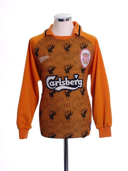1996-97 Liverpool Goalkeeper Shirt L
