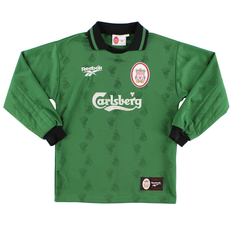 1996-97 Liverpool Goalkeeper Shirt L.Boys