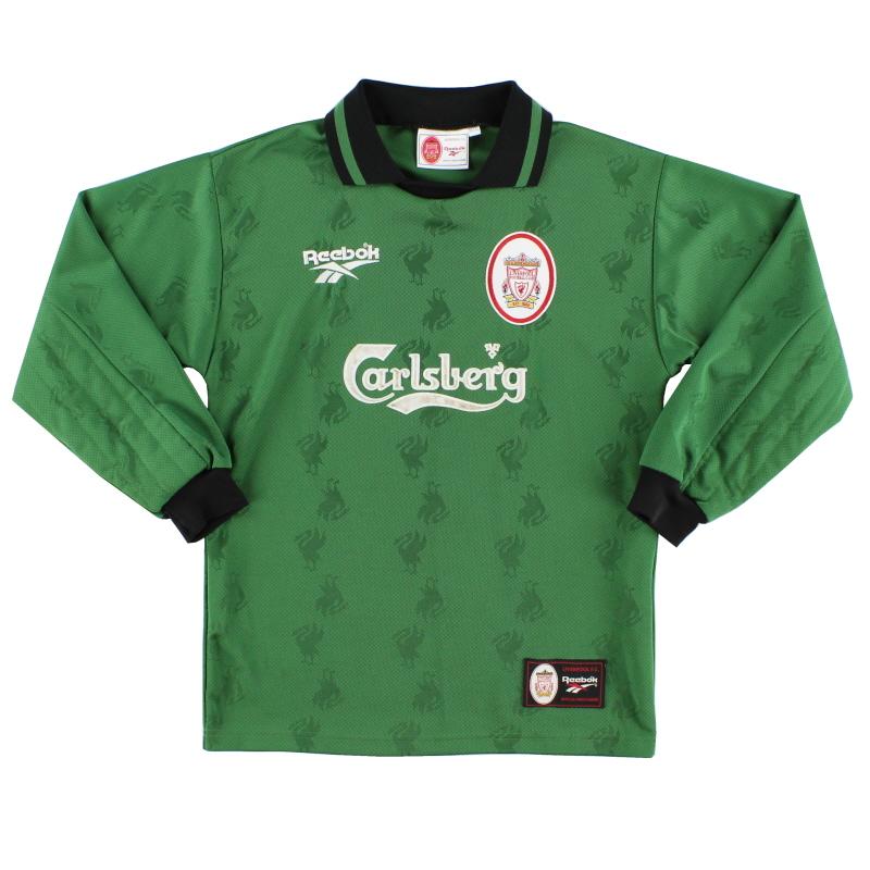 1996-97 Liverpool adidas Goalkeeper Shirt Y