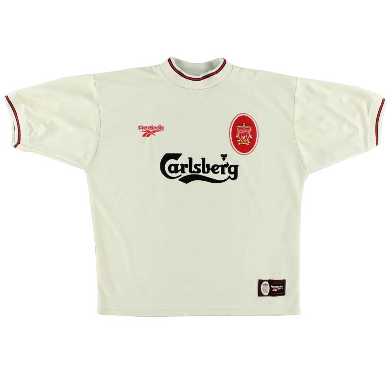1996-97 Liverpool Reebok Away Shirt *Mint* L - 961735