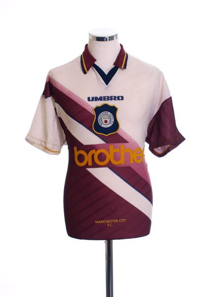 1996-97 Manchester City Away Shirt XL