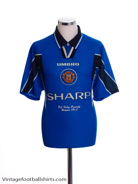 1996-97 Manchester United 'Champions' Third Shirt Y
