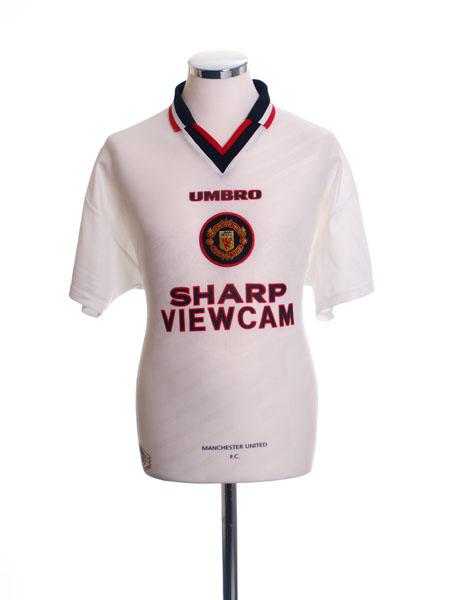 1996-97 Manchester United Away Shirt L