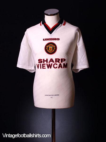 1996-97 Manchester United Away Shirt XXL