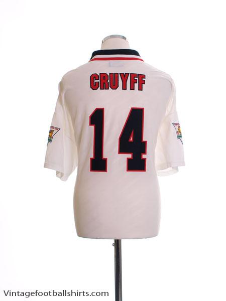 1996-97 Manchester United 'Champions' Away Shirt Cruyff #14 XXL