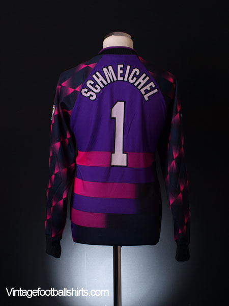 c88c227d7 1996-97 Manchester United Goalkeeper Shirt Schmeichel  1 M for sale