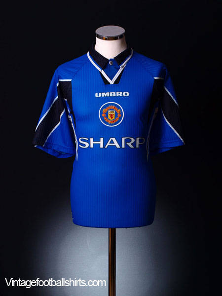 1996-97 Manchester United Third Shirt XL