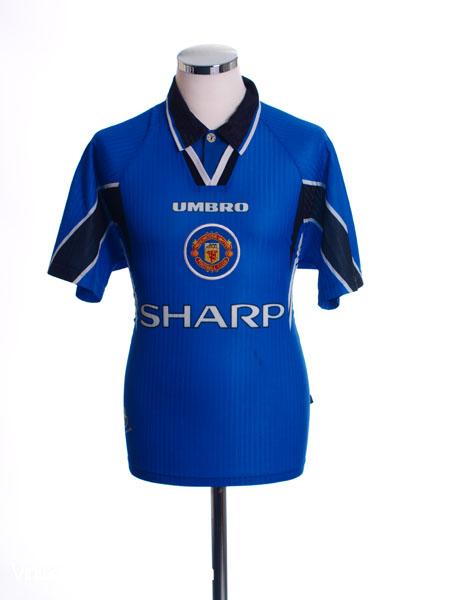 1996-97 Manchester United Third Shirt L