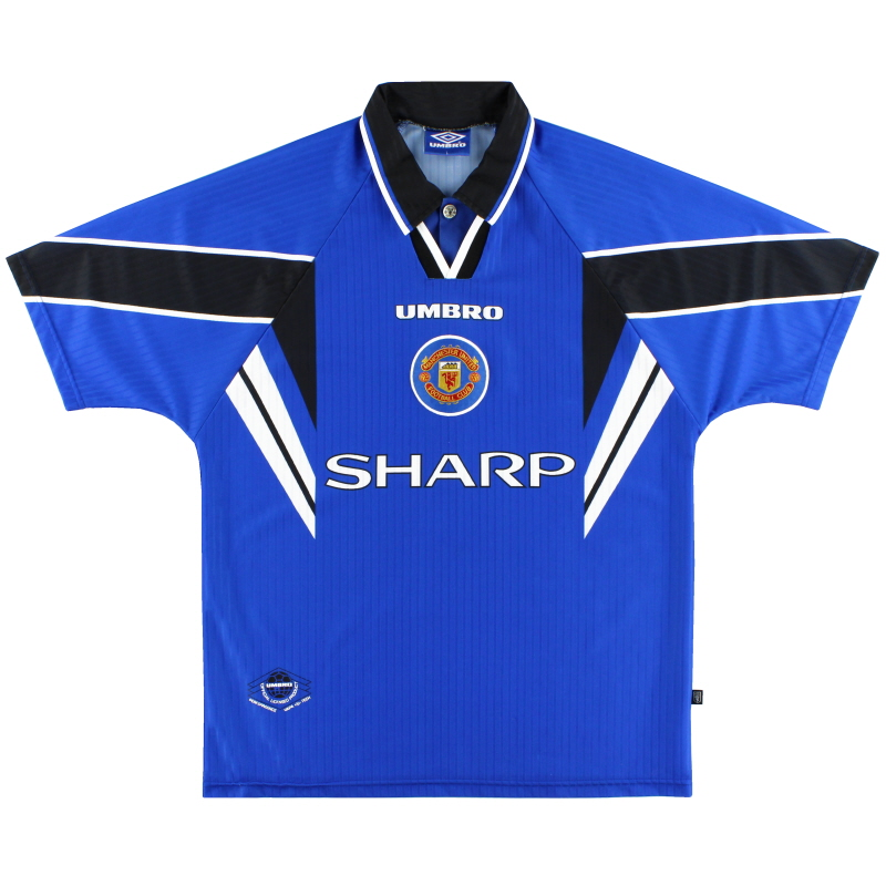 1996-97 Manchester United Third Shirt XXL
