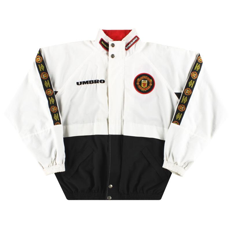 1996 97 Manchester United Umbro Training Jacket L For Sale