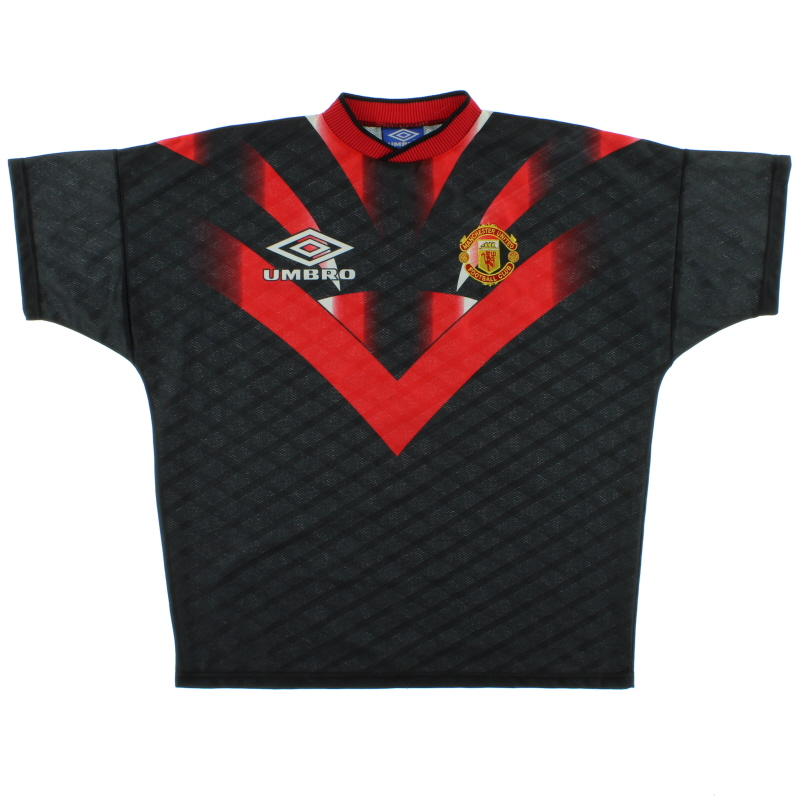 1996-97 Manchester United Umbro Training Shirt XL