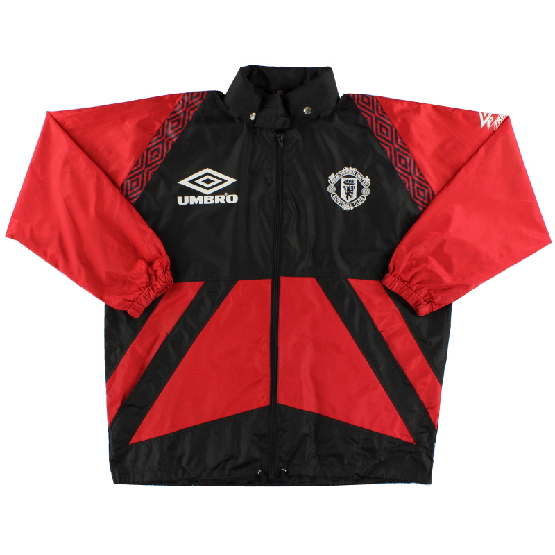 1996-97 Manchester United Umbro Rain Jacket *As New* L