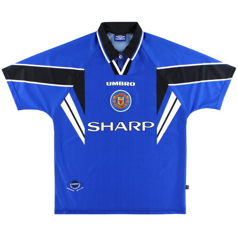 1996-97 Manchester United Umbro Third Shirt L