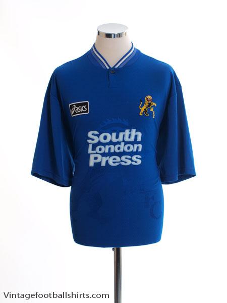 1996-97 Millwall Home Shirt L