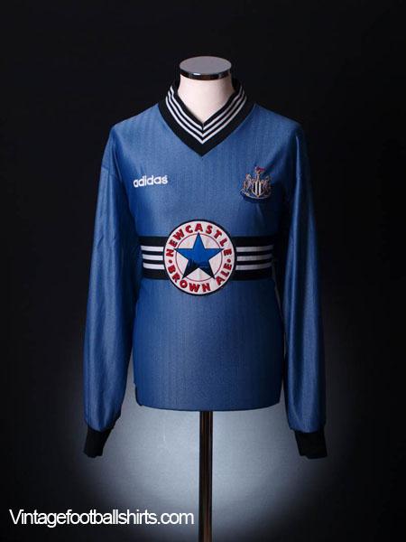 1996-97 Newcastle Away Shirt L/S XL