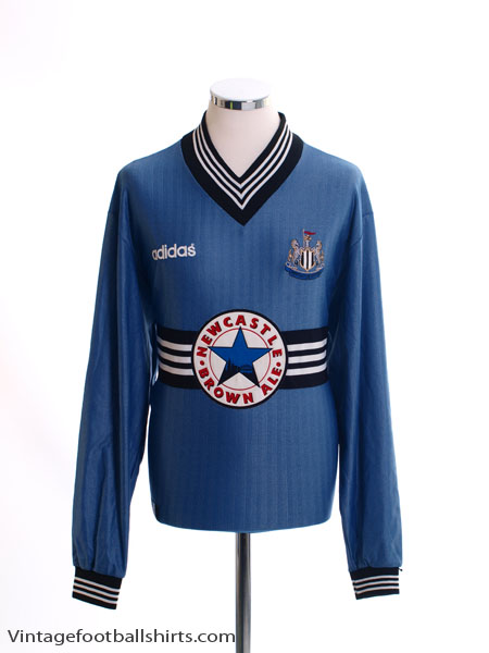 1996-97 Newcastle Away Shirt L/S L