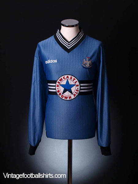 1996-97 Newcastle Away Shirt L/S XL