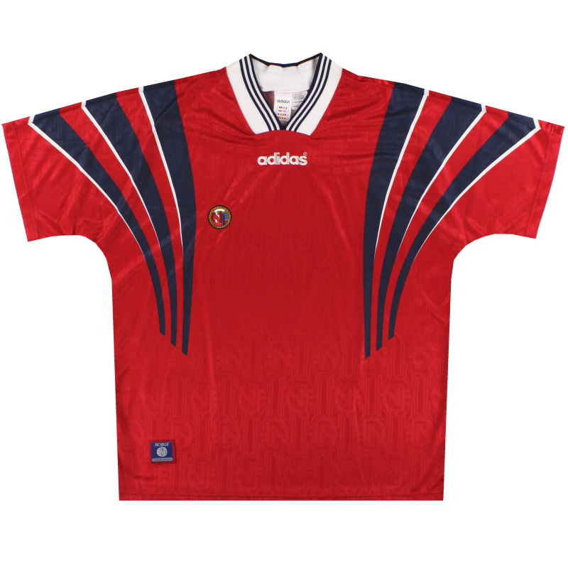 1996-97 Norway adidas Home Shirt XL