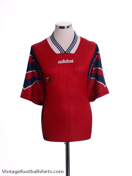 1996-97 Norway Home Shirt XXL