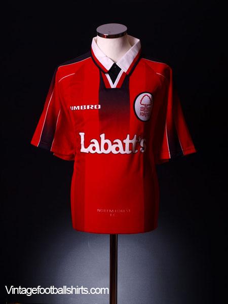 1996-97 Nottingham Forest Home Shirt *BNIB* XL