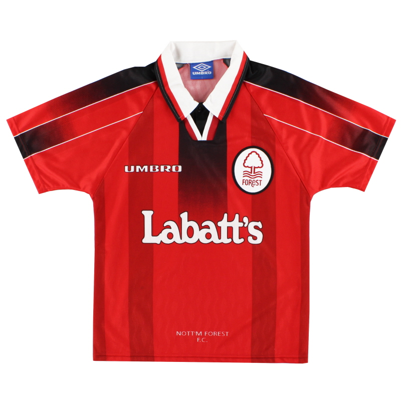 1996-97 Nottingham Forest Home Shirt Y