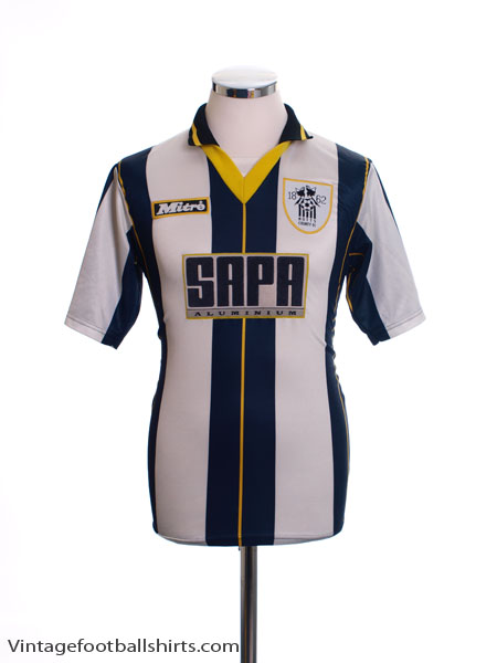 1996-97 Notts County Home Shirt S