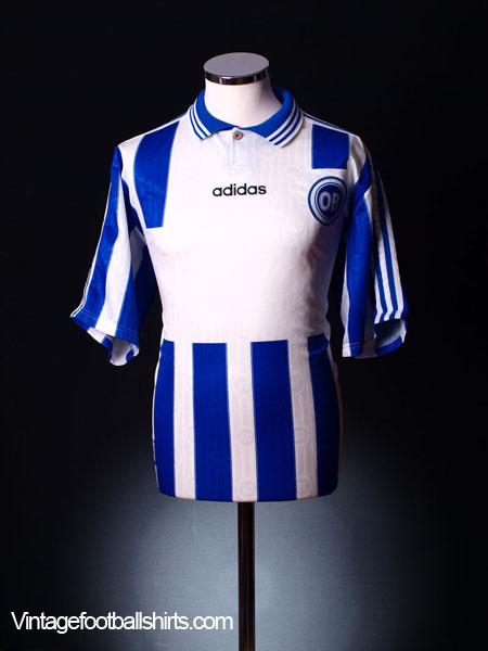 1996-97 Odense BK Home Shirt #No4 L