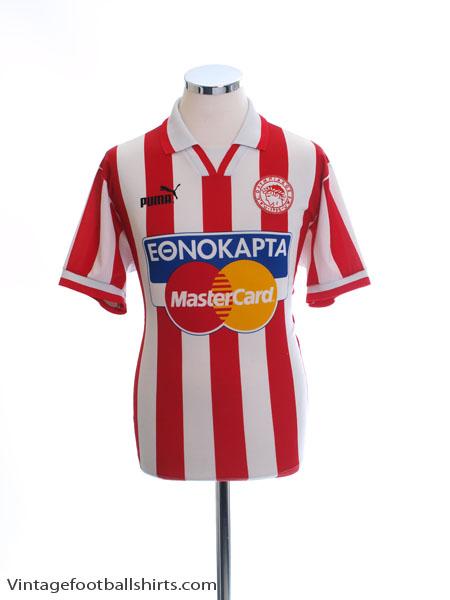 1996-97 Olympiakos Home Shirt S