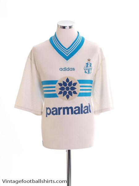 1996-97 Olympique Marseille Home Shirt L