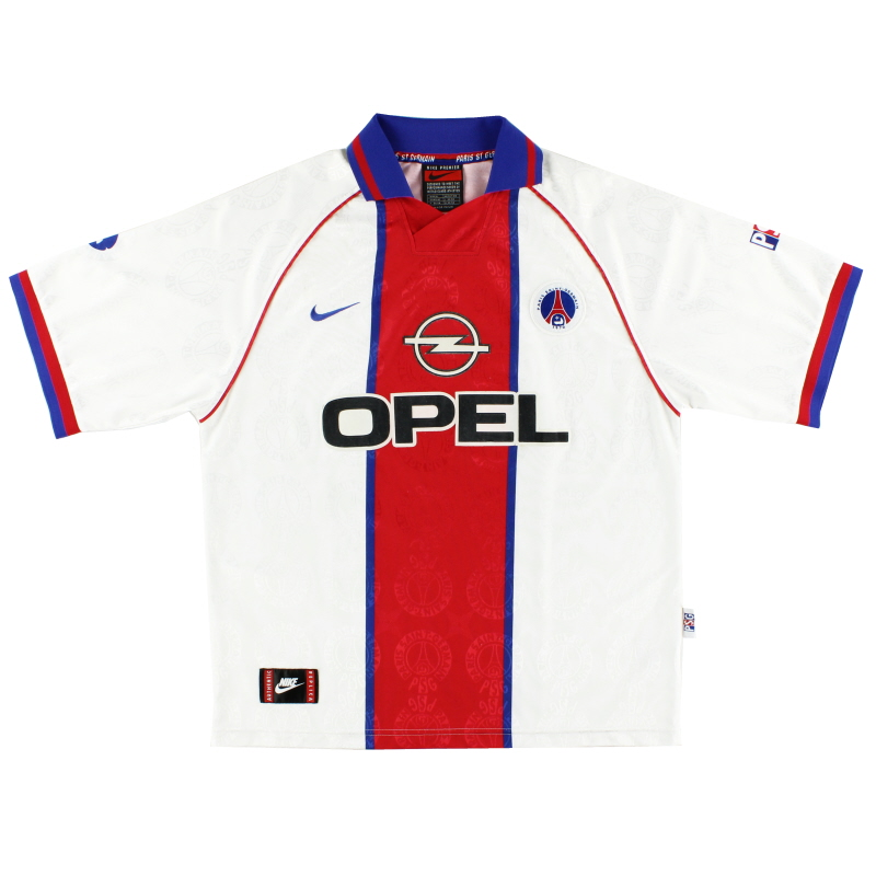 1996-97 Paris Saint-Germain Nike Away Shirt *Mint* M