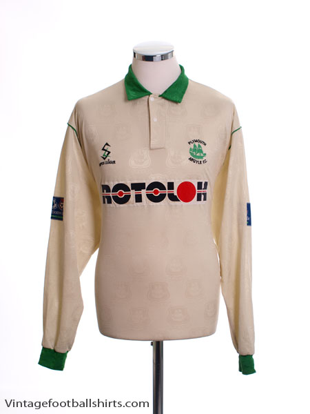 1996-97 Plymouth Match Issue Away Shirt #10 L/S XL