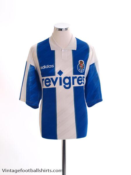 1996-97 Porto Home Shirt *Mint* L