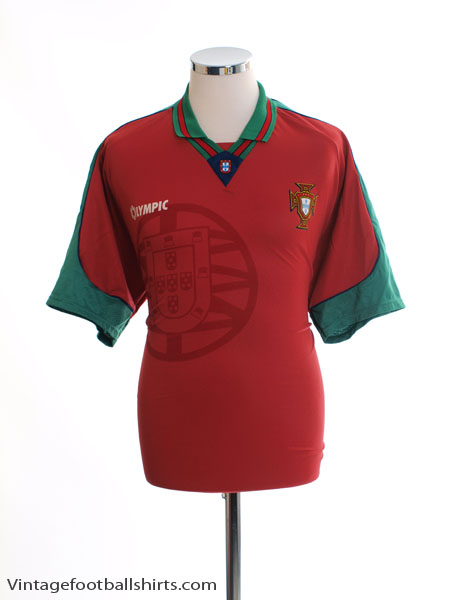 1996-97 Portugal Home Shirt L