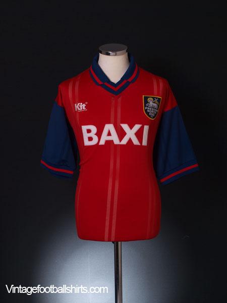 1996-97 Preston Away Shirt *Mint* L