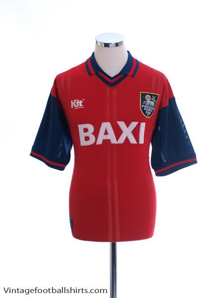 1996-97 Preston Away Shirt M