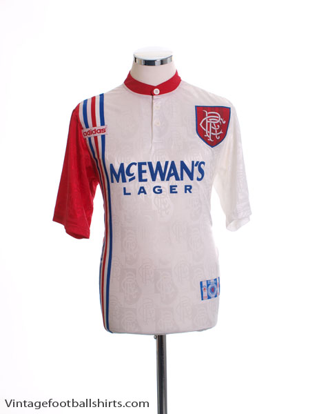 1996-97 Rangers Away Shirt *Mint* S