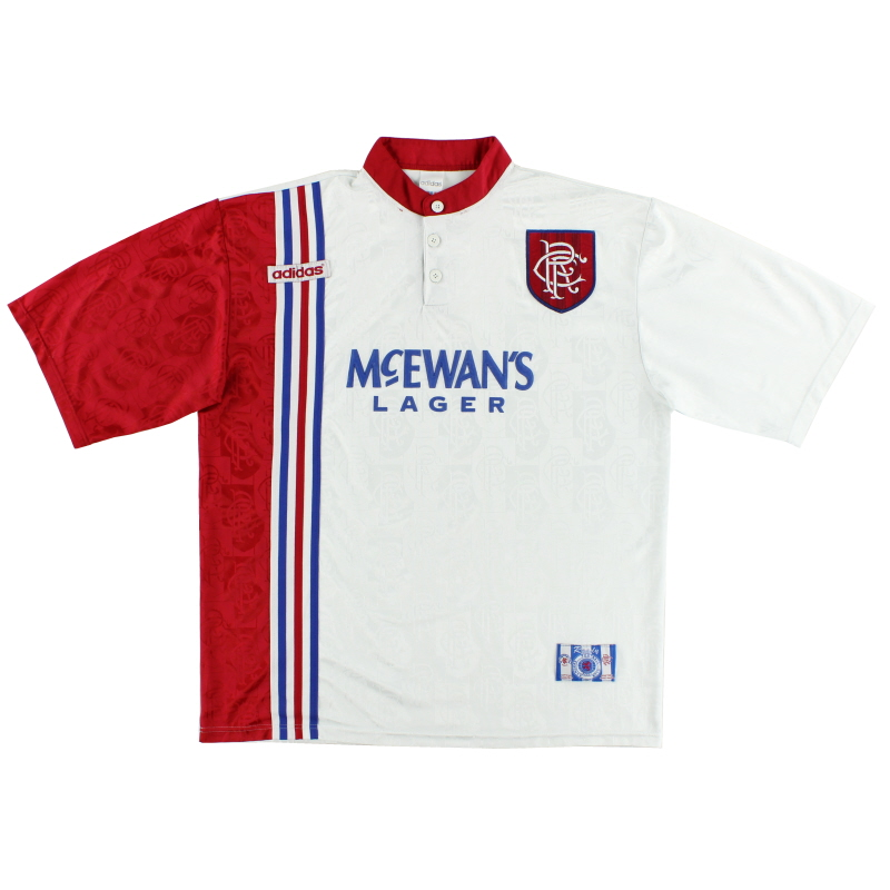 1996-97 Rangers adidas Away Shirt XL