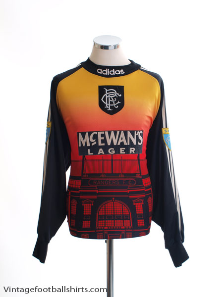 1996-97 Rangers Match Issue Goalkeeper Shirt #1 XXL