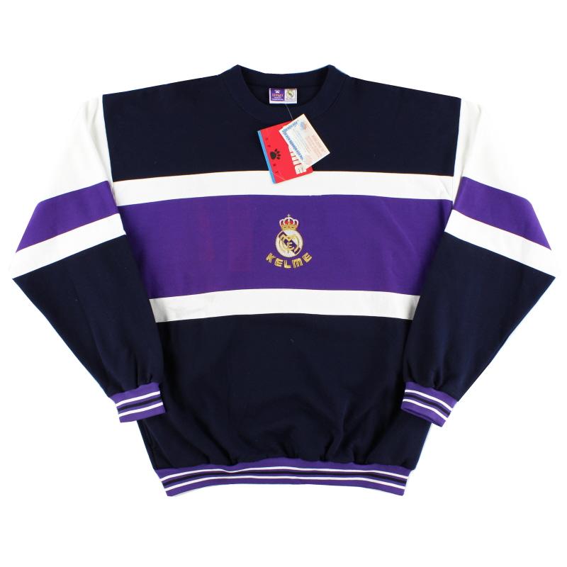 1996-97 Real Madrid Kelme Sweatshirt *w/tags* XL - 84028