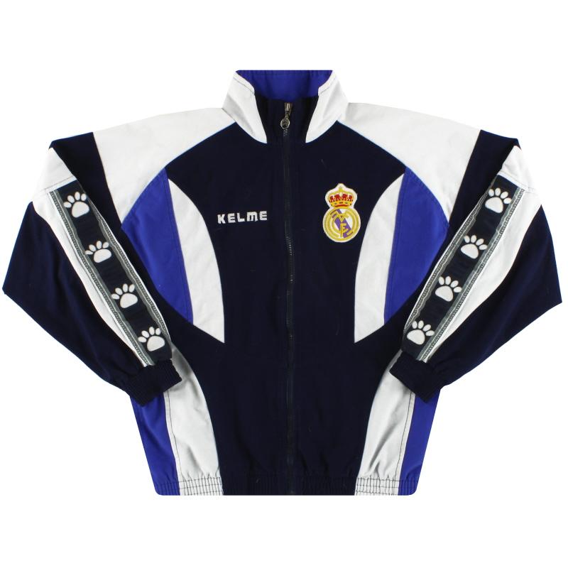1996-97 Real Madrid Kelme Track Jacket XS