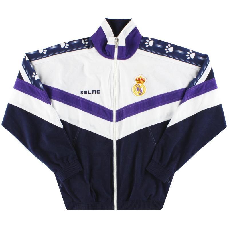1996-97 Real Madrid Kelme Track Jacket S