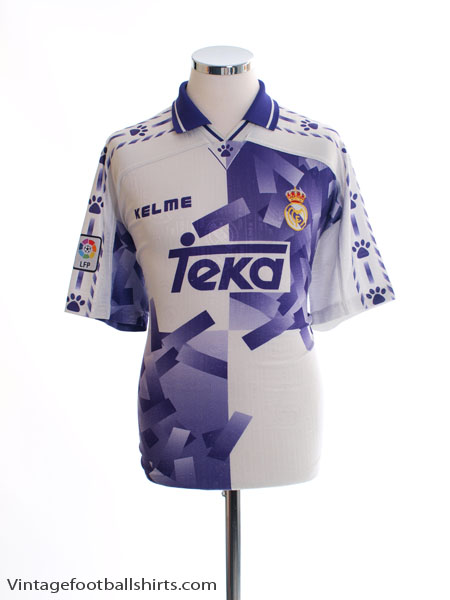 1996-97 Real Madrid Third Shirt M