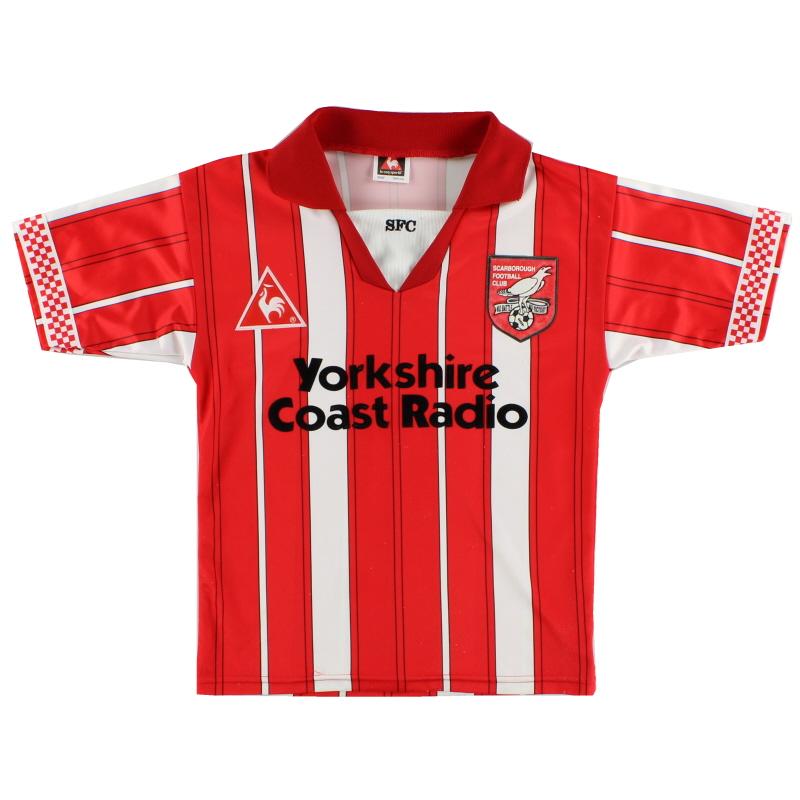 1996-97 Scarborough Home Shirt Y