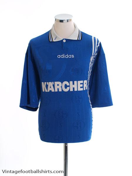 1996-97 Schalke Home Shirt XL