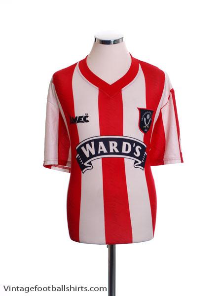 1996-97 Sheffield United Home Shirt *Mint* L